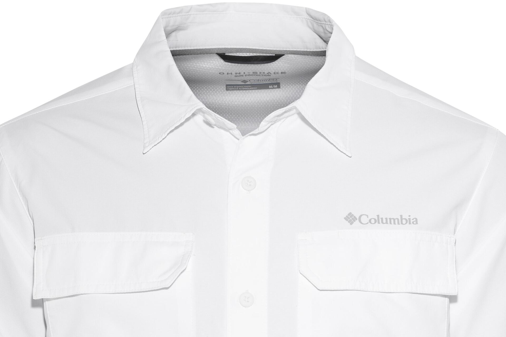 Columbia Silver Ridge II Chemise Homme, white